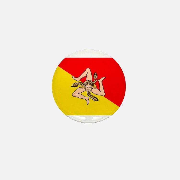 Sicily Mini Button