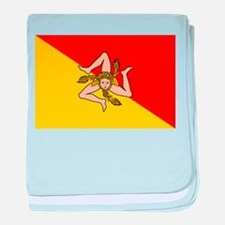 Sicily baby blanket
