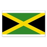 Jamaica Sticker (Rectangle 10 pk)