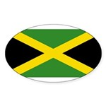 Jamaica Sticker (Oval 50 pk)