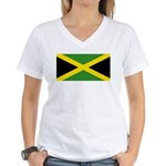 Jamaica Women's V-Neck T-Shirt