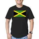 Jamaica Men's Fitted T-Shirt (dark)