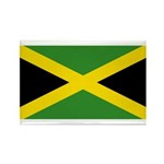 Jamaica Rectangle Magnet (10 pack)