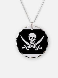 Calico Jack Rackham Jolly Rog Necklace