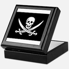 Calico Jack Rackham Jolly Rog Keepsake Box