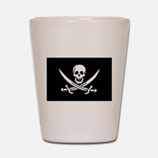 Calico Jack Rackham Jolly Rog Shot Glass