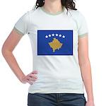 Kosovo Jr. Ringer T-Shirt