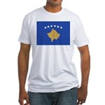 Kosovo Fitted T-Shirt