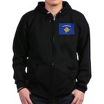 Kosovo Zip Hoodie (dark)
