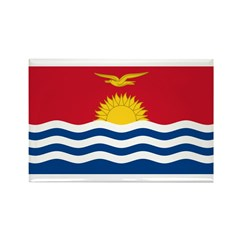Kiribati Rectangle Magnet (10 pack)