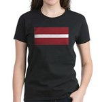 Latvia Women's Dark T-Shirt