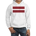 Latvia Hooded Sweatshirt