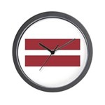 Latvia Wall Clock