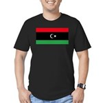 Libya Men's Fitted T-Shirt (dark)