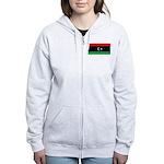 Libya Women's Zip Hoodie