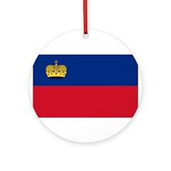 Liechtenstein Ornament (Round)