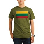 Lithuania Organic Men's T-Shirt (dark)