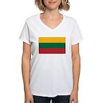 Lithuania Women's V-Neck T-Shirt