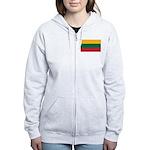Lithuania Women's Zip Hoodie