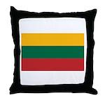 Lithuania Throw Pillow