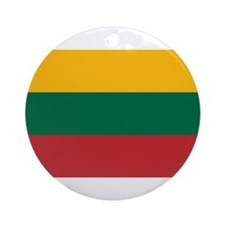 Lithuania Ornament (Round)