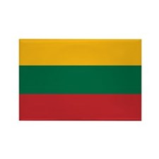 Lithuania Rectangle Magnet (10 pack)