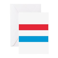 Luxembourg Greeting Cards (Pk of 10)