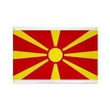 Macedonia Rectangle Magnet