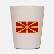 Macedonia Shot Glass