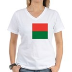 Madagascar Women's V-Neck T-Shirt