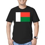 Madagascar Men's Fitted T-Shirt (dark)