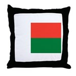 Madagascar Throw Pillow