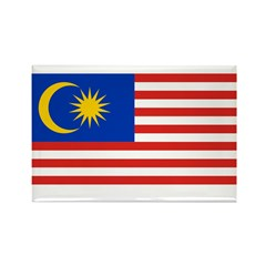 Malaysia Rectangle Magnet (10 pack)