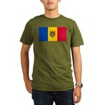 Moldova Organic Men's T-Shirt (dark)