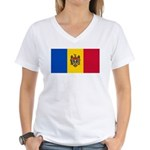 Moldova Women's V-Neck T-Shirt