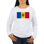 Moldova Women's Long Sleeve T-Shirt