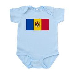 Moldova Infant Bodysuit