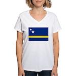 Curaçao Women's V-Neck T-Shirt
