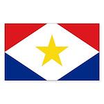 Saba Sticker (Rectangle 50 pk)