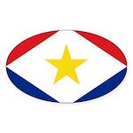 Saba Sticker (Oval 10 pk)