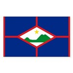 Sint Eustatius Sticker (Rectangle 50 pk)