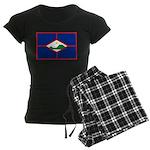 Sint Eustatius Women's Dark Pajamas