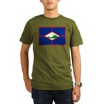 Sint Eustatius Organic Men's T-Shirt (dark)