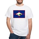 Sint Eustatius White T-Shirt