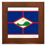 Sint Eustatius Framed Tile