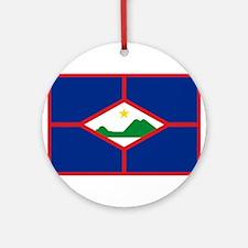 Sint Eustatius Ornament (Round)