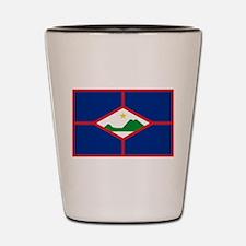 Sint Eustatius Shot Glass