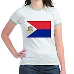 Sint Maarten Jr. Ringer T-Shirt