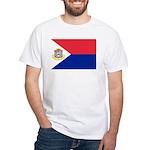 Sint Maarten White T-Shirt