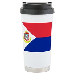 Sint Maarten Travel Mug